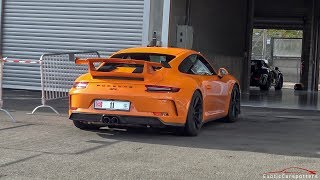 Porsche 991.2 GT3 Going FLATOUT on Spa-Francorchamps !