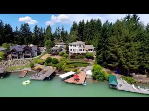 18006 28th St. E, Lake Tapps | Luxury Waterfront Living on Lake Tapps
