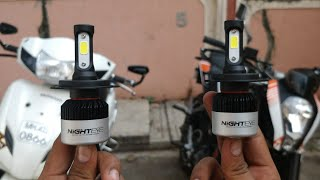 Best led headlights for all motorcycle and scooters | NIGHTEYE