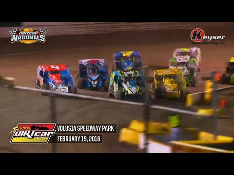 Highlights: Super DIRTcar Series Big Block Modifieds Volusia Speedway Park February 19th, 2016