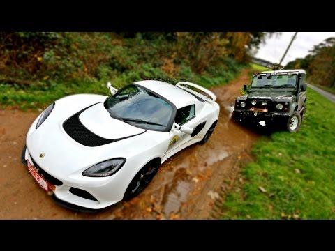 SPORTS CAR vs OFF ROAD