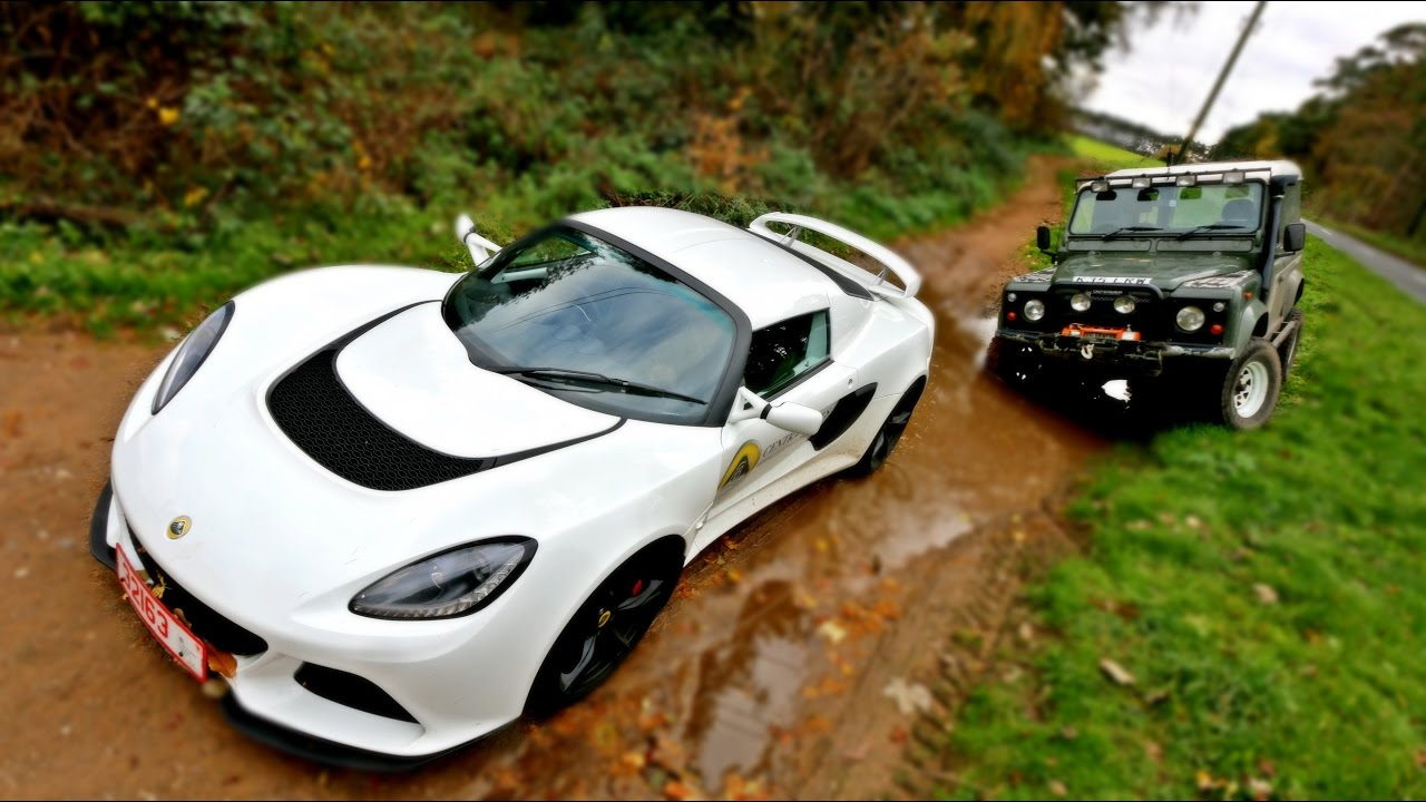 Sports Car Vs Off Road  Youtube