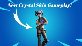 Arena game mode with Crystal skin game play! (Season X) Fortnite Battle Royale!