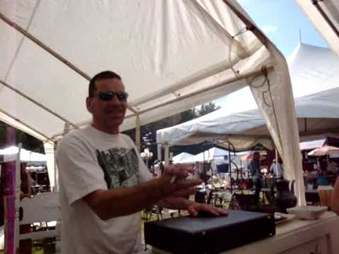 Scarlett Scales Antiques at Brimfield, Mass Antique Show - Interview with Dealer