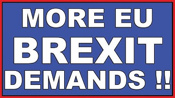 EU wants UK to give up sovereignty for a Brexit trade deal!
