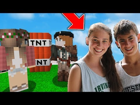 PRETENDING TO BE KIDS SISTER TO TROLL HIM ON MINECRAFT
