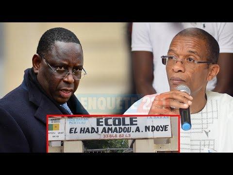 Alioune Ndoye maire Dakar plateau : très furieux contre l'état menace