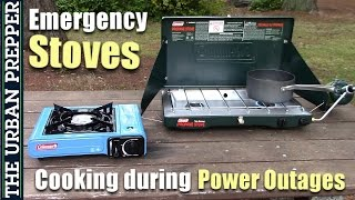 Emergency Cooking Stoves for Power Outages