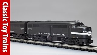 Lionel Legacy Alco FA | a Classic Toy Trains review