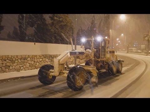 First Night of Snow in Jerusalem 2015 | 5775 הלילה הראשון של השלג בירושלים