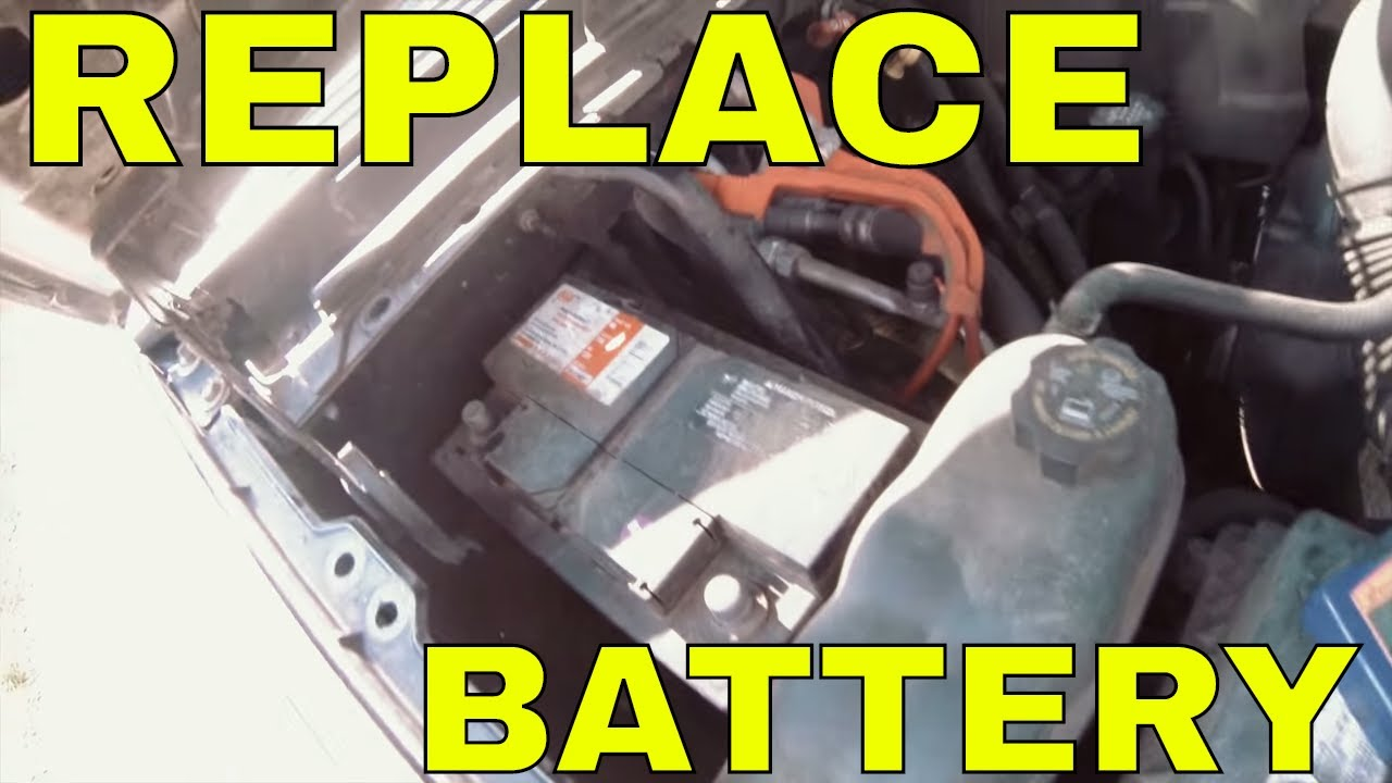 Replace Battery On 2007 2017 Gmc Yukon Xl How To Diagnose Chevy Suburban Tahoe Cadillac Escalade