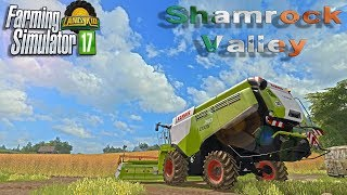 🔴 Farming Simulator 17 | Shamrock Valley | is it time yet ?