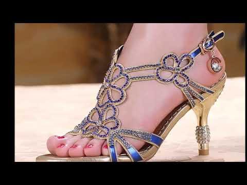 Latest Top Bridal Sandals   Beautiful Fancy Sandals