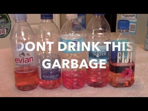 PROOF, BOTTLED WATER IS MAKING YOU SICK!