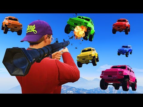 WILL I DESTROY THEM ALL? (GTA 5 Funny Moments)