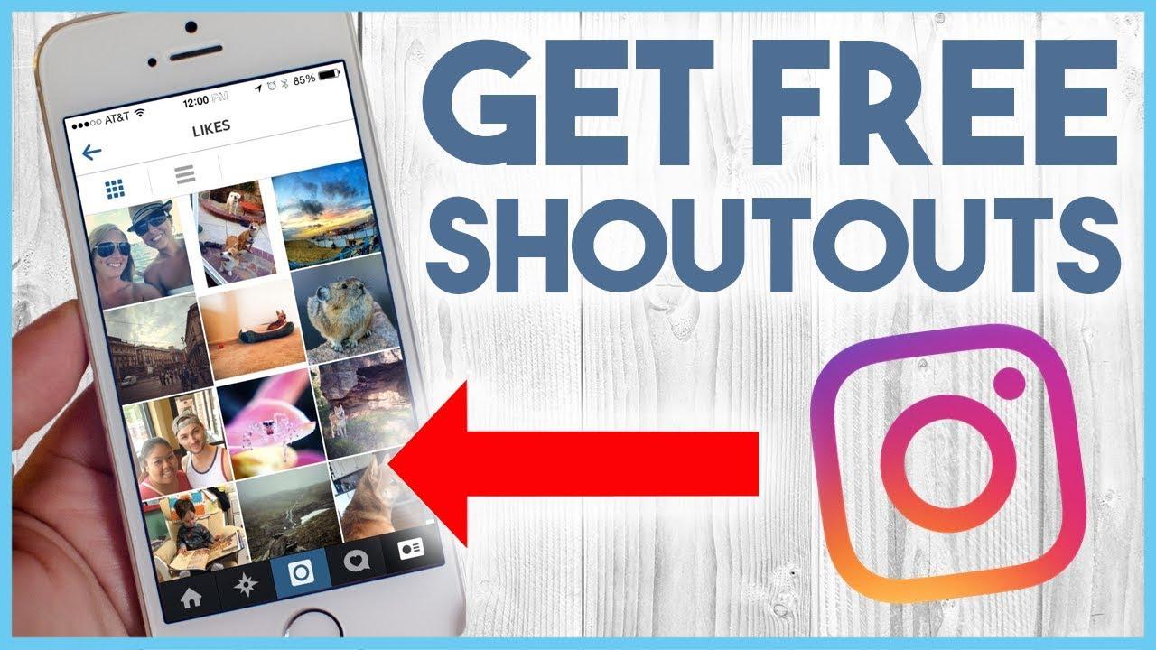 Free shoutouts