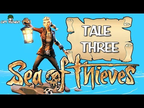 TALE OF THE BEACH SKULLS! - Sea Of Thieves Tale 3