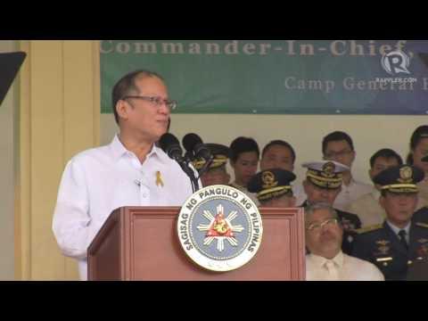 WATCH: President Benigno Aquino III