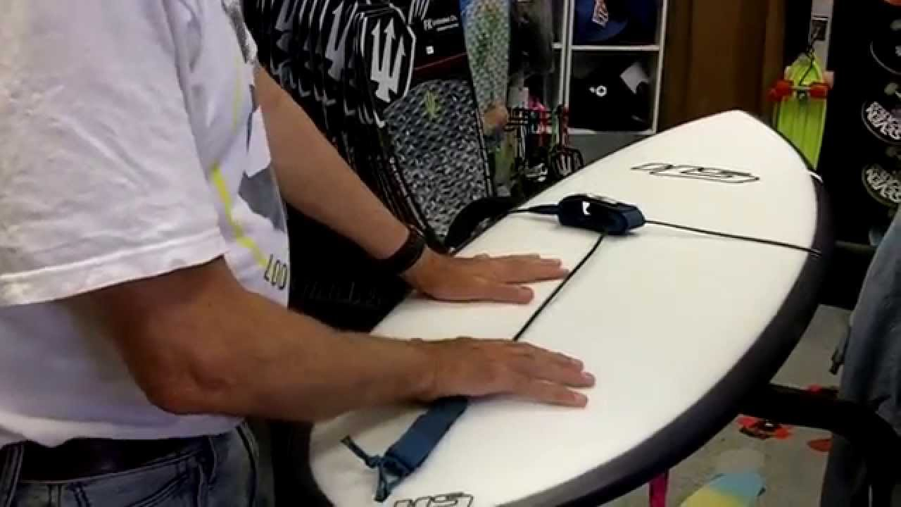 How To Wrap Leg Rope Leash Around Your Surfboard For Travel And Storage
