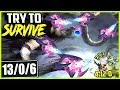 TRY TO SURVIVE AGAINST THIS CHO'GATH | MASTER RIVEN? NOT ENOUGH | TOP Cho'Gath Season 9 Gameplay