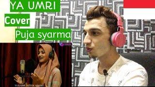 *REACTION* Arab Song YA UMRI - Cover PUJA SYARMA