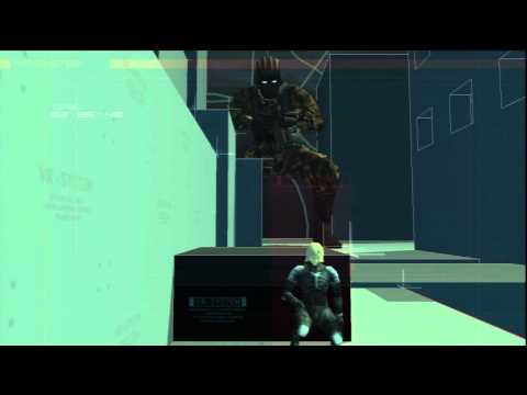 Metal Gear Solid 2 HD Collection: VR Training - Raiden Variety Mode 06