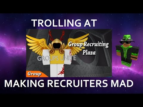 TROLLING AT GROUP RECRUITING PLAZA - MAKING RECRUITERS MAD