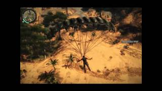 Just cause 2 PC demo gameplay