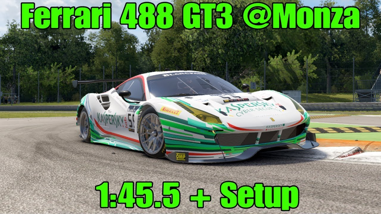Project cars 2 ferrari 488 gt3 monza 1455 setup youtube project cars 2 ferrari 488 gt3 monza 1455 setup publicscrutiny Image collections