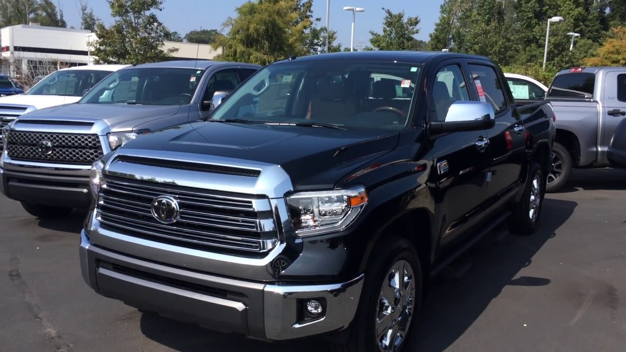 2018 toyota tundra 1794 edition best new cars for 2018. Black Bedroom Furniture Sets. Home Design Ideas