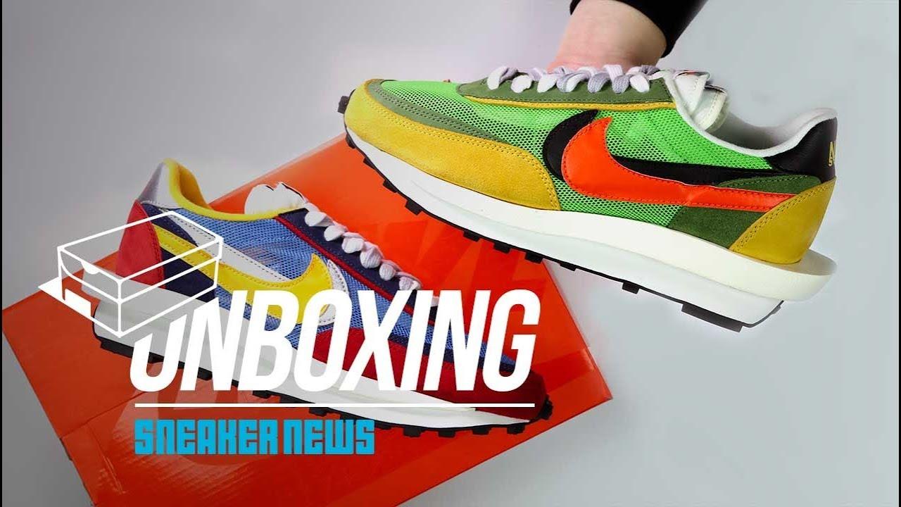 promo code 2bad4 bd5f6 Sacai Nike LDV Waffle Unboxing + Review