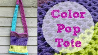 How To Crochet the Color Pop Tote, Episode 429