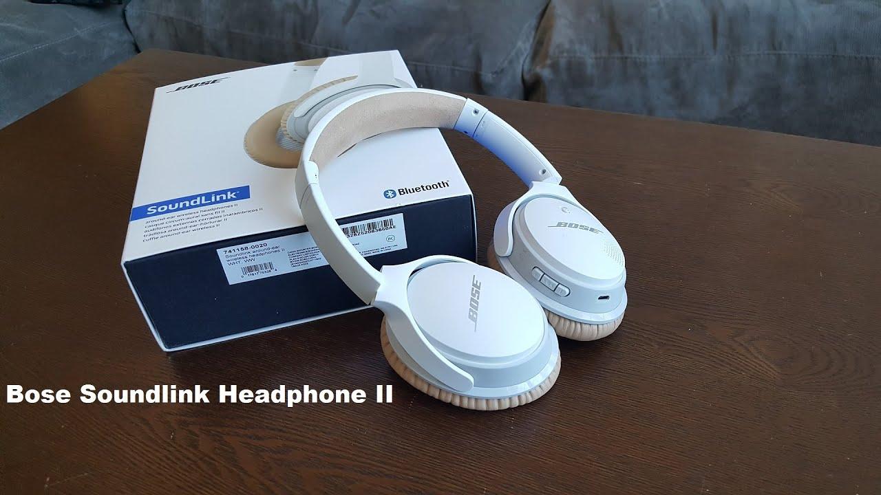 8cfbfe3b6ec Bose Soundlink Headphone II Review - YouTube