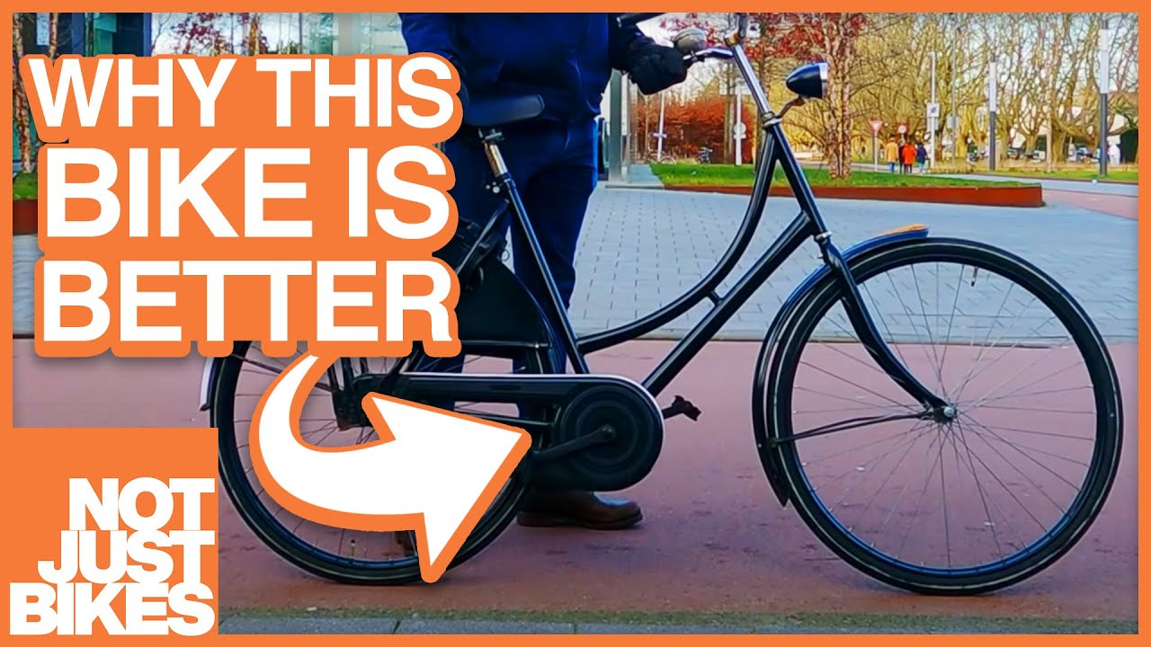 Why Dutch Bikes are Better (and why you should want one)