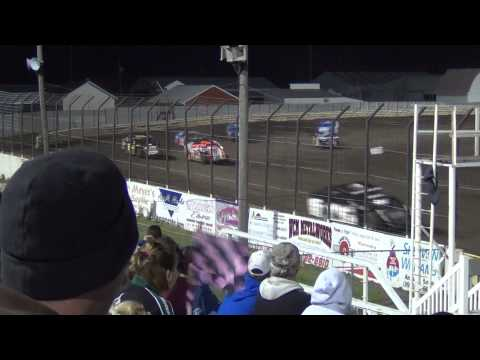 Lee County Speedway Modified Heat 3 10/25/2014