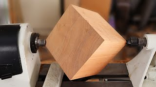 Wood Turning a Cube
