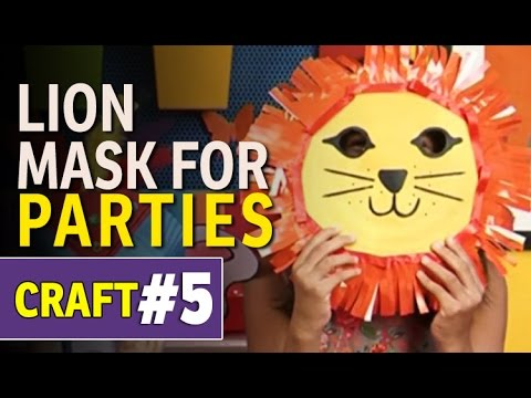 How To Make Animal Paper Plate Party Mask - DIY Art and Craft Ideas (Hindi Tutorials)  sc 1 st  YouTube & How To Make Animal Paper Plate Party Mask - DIY Art and Craft Ideas ...