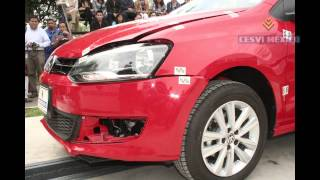 2013 Low-speed crashtest Volkswagen Polo