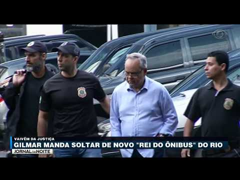 """Gilmar Mendes Manda Soltar De Novo """"rei Do ônibus"""" Do Rio"""