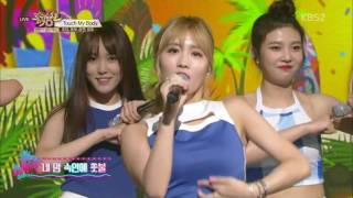 Special Stage 160624 TWICE G Friend Red Velvet CLC Touch My Body KBS Music Bank 1080p 60FPS