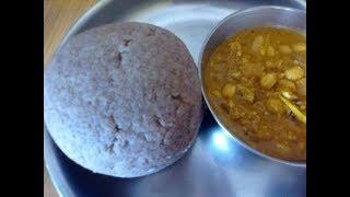 Mummy's Cooking - Jowar Kali / sola Kali / Jowar Mudde in Tamil