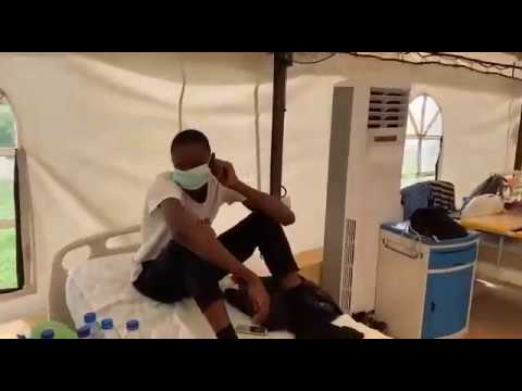 Watch: Nigeria Isolation Center Yaba, Patience Speaks About Their Conditions