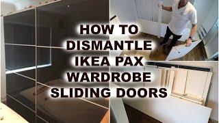 ikea pax wardrobe dismantling