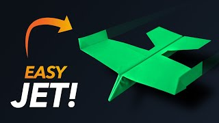Easy Paper Fighter Jet!
