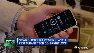 Here's why Starbucks is partnering with restaurant tech company Brightloom