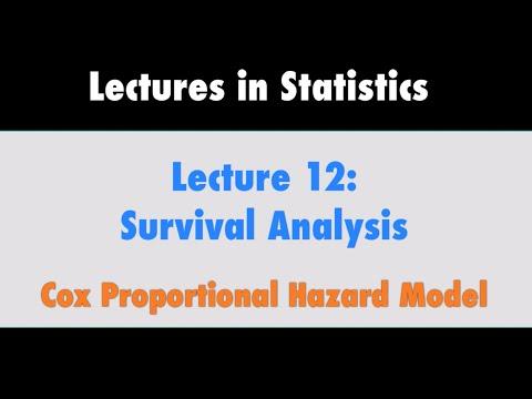 Survival Analysis Part 9 | Cox Proportional Hazards Model