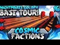 NIGHTMARES GOLIATH BASE TOUR! | Minecraft FACTIONS #16 (CosmicPvP Ice Planet)