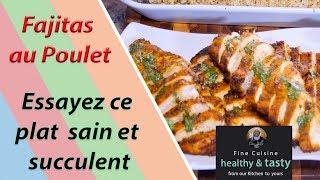 Chicken Fajitas   Fajitas au Poulet - Bernde ak Sokhna Billo (Saison 3 #15)