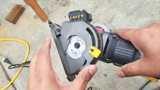Teccpo Mini Circular Saw Review// Sold by Amazon