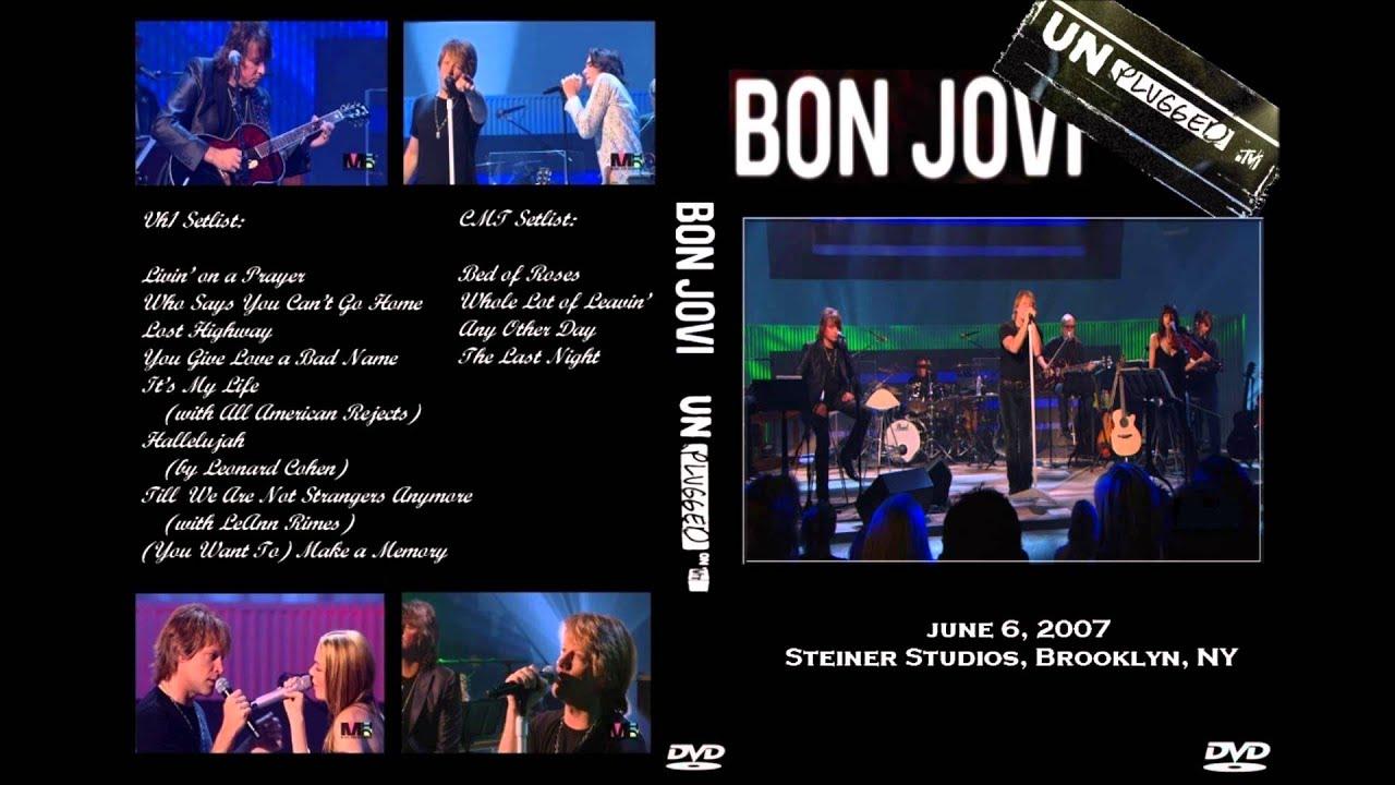 Bon Jovi - You Give Love A Bad Name (Shot Through The Heart)
